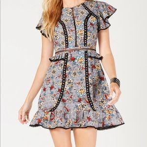 Laundry by Shelli Segal Mini Dress with Studs